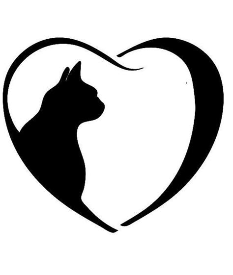 best 25 cat silhouette tattoos ideas on pinterest
