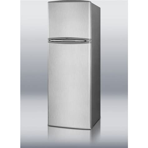 bar top depth summit ff1325ssim 24 quot 10 4 cu ft counter depth top freezer refrigerator