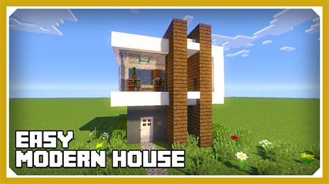 how to build a small modern house minecraft how to build a small modern house tutorial 2