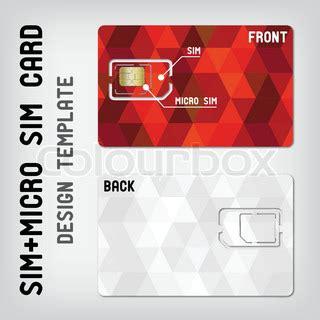 sim card template usa sim micro sim card template vector colourbox