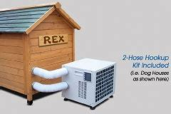 dog houses with air conditioning pin by carie lyn brown on puppie love pinterest