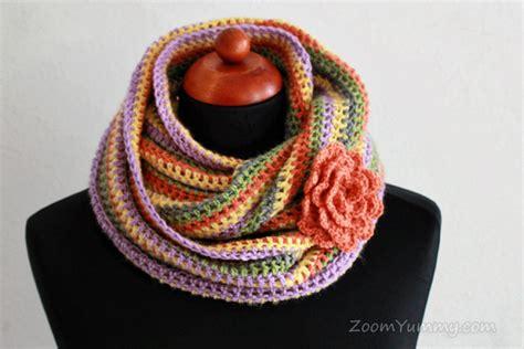 infinity scarf crochet pattern easy easy crochet infinity scarf free pattern 171 crochet