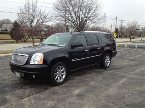 how things work cars 2011 gmc yukon xl 2500 user handbook find used 2011 gmc black yukon denali xl loaded sport utility 4 door 6 2l v8 in milwaukee