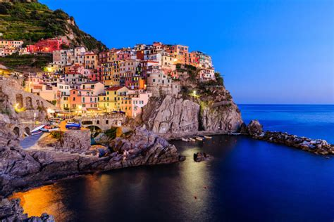 United Airlines Stock by By The Sea Cinque Terre Liguria Italy