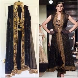 Indian Black Dress dresses black gold anarkali sequins l nwt indian dress