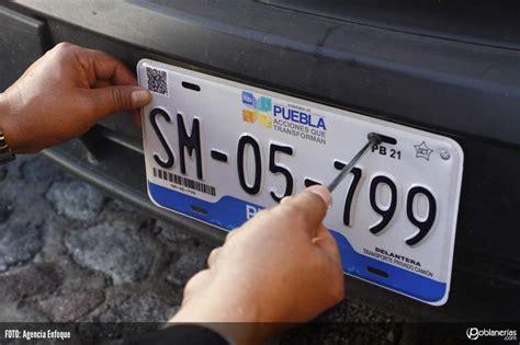 como cambio de placa del df a puebla 2016 en breve aplicar 225 n fotomultas a automovilistas poblanos en