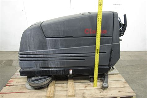 26 Floor Scrubber by Clarke Vision V Floor Scrubber 24v 26 Quot Path 20 Gal Tanks 2