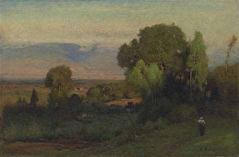 Landscape Artist George Crossword George Inness Works On Sale At Auction Biography