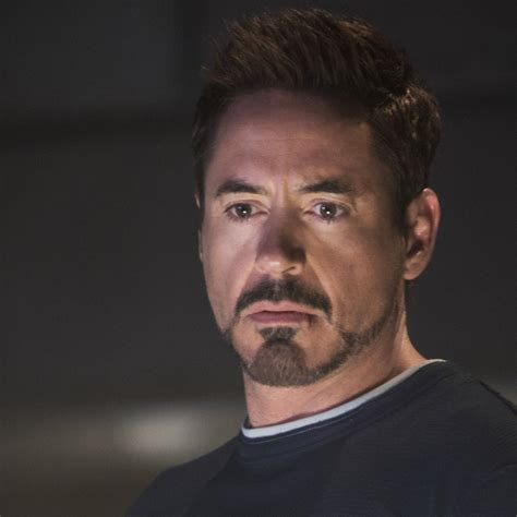 how to achieve tony stark hairstyle iron man beard style downey jr as tony stark in