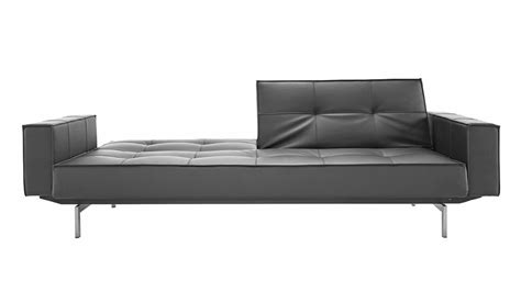 steel sofas brawn stainless steel sofa with arms in black zuri furniture