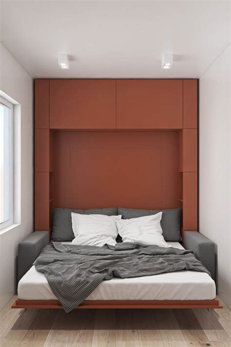 modern murphy beds minimalist style design of a 3 bed 2 bath 2 floor house