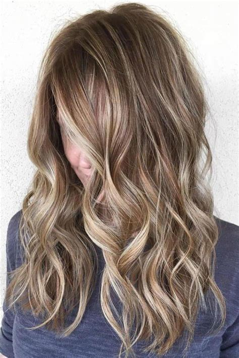 blonde hair with chunky highlights dark brown hair with blonde highlights and lowlights