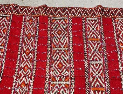moroccan tribal rugs moroccan tribal wedding rug with sequins at 1stdibs