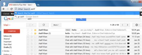Finder Instant Search Gmail Search Quickly Find Gmail Items From The Omnibar Chrome
