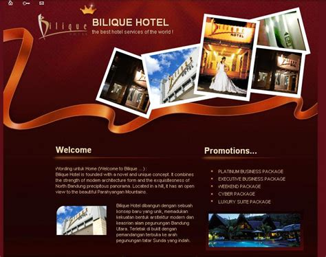 contoh layout web hotel contoh webesite travel hotel web design