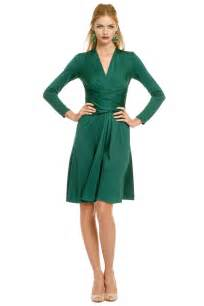 green royal wrap dress by issa for 125 rent the runway