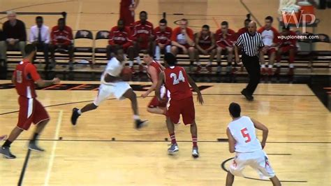 wp mens basketball  montclair state jan   youtube