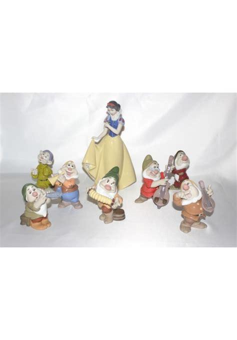 Figurine Snow White 7 Dwarfs Set snow white and the seven dwarfs porcelain figurine set