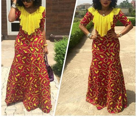 latest 2016 styles of ankara gowns in pinterest top ten creative aso ebi styles ankara 2016 dabonke