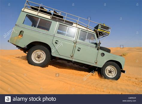 land rover africa africa tunisia nr tembaine land rover series 3 station