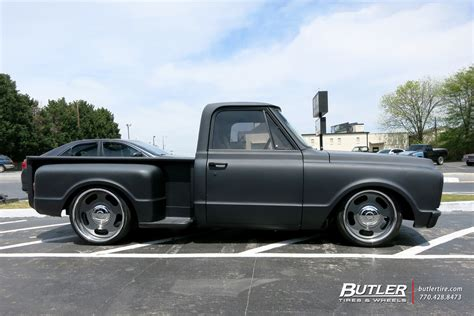 chevrolet tires chevrolet c10 with 22in us mags big slot wheels