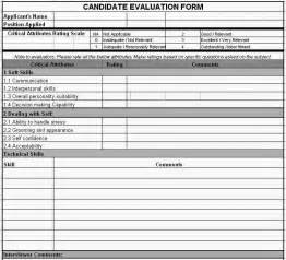 candidate evaluation template evaluation template search results calendar 2015