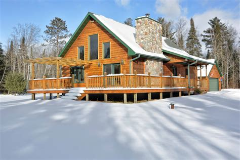 wisconsin lake home clam lake wisconsin residential home for sale