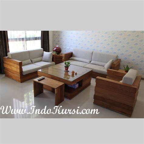 Kursi Sofa Dari Kayu kursi tamu minimalis kayu ik 12 indo kursi mebel indo