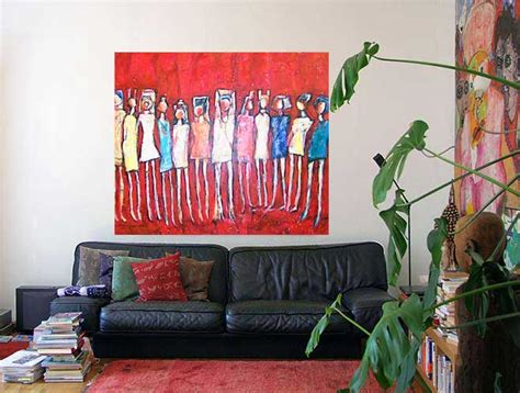 wohnzimmer malerei kunstgalerie berlin moderne malerei gem 228 lde