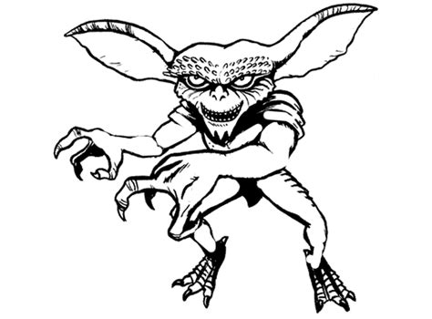 Free Coloring Pages Of Gizmo Gremlins Coloring Pages