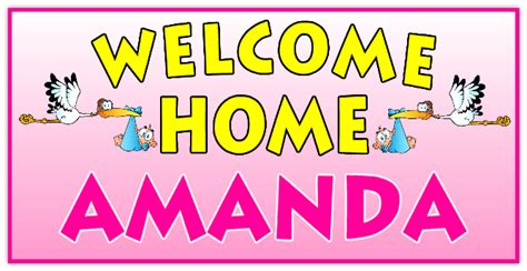 welcome home banner 107 welcome home banner templates