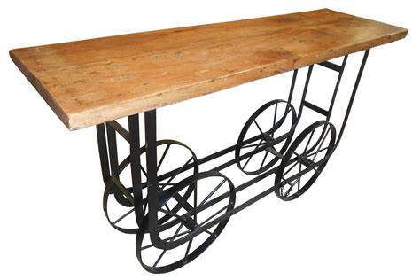 sofa table on wheels homelegance bremerton sofa table with functional wheels