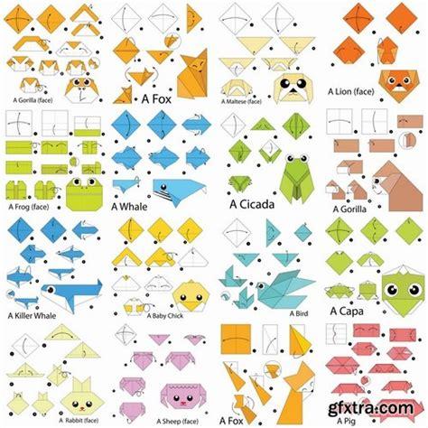 Paper Folding Animals For - wildlife safari australia africa 187 page 6