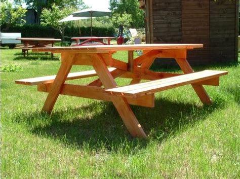 panche da giardino in legno tavoli in legno per giardino con panche tavolo da