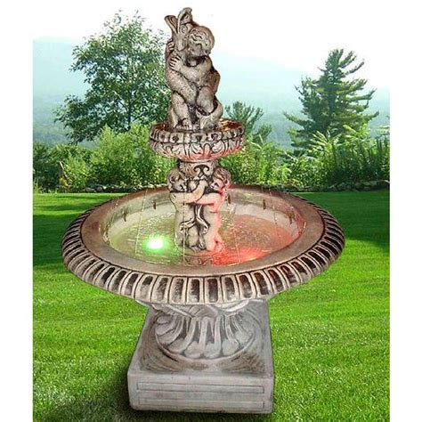 giardino con fontana immagini fontane da giardino il fai da te fontana per