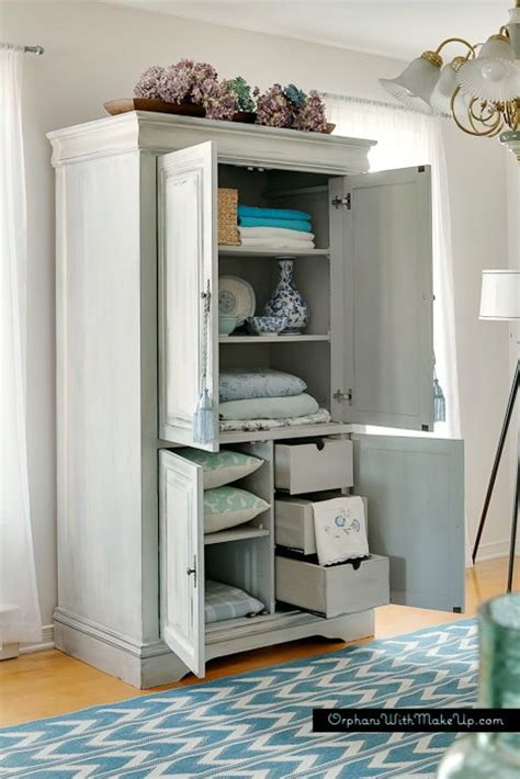 hometalk upcycled media cabinet  armoire