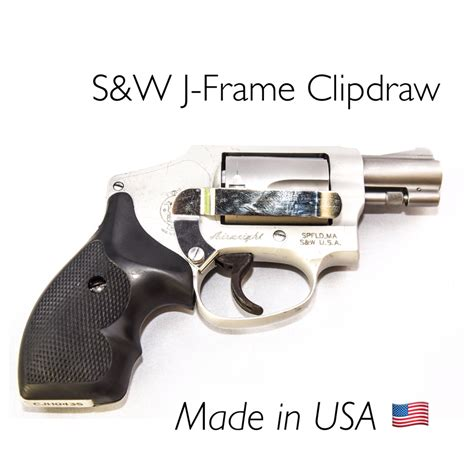 clipdraw smith wesson sw  frame holster alternative iwb clip