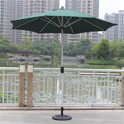 Patio Umbrella In Wind 8 9 Ft Outdoor Wind Resistant Patio Umbrella 913al 1