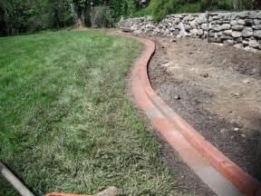Landscape Edging Using Bricks Brick Driveway Image Brick Edging