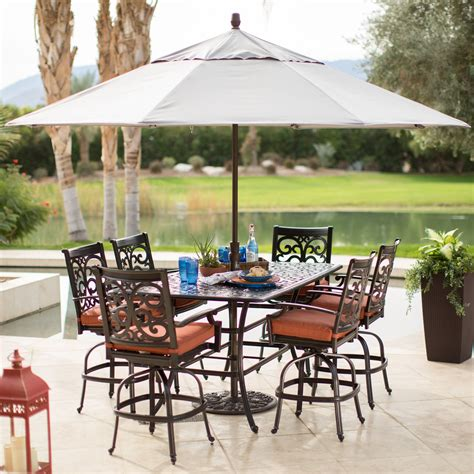 white patio side table white patio table umbrella standpatio side tables withole