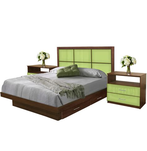 king size bedroom set with storage rico king size bedroom set w storage platform contempo space