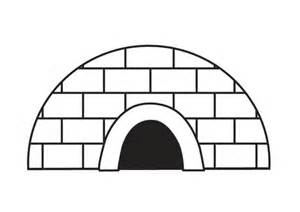 igloo coloring page free coloring pages of dibujos de igloo