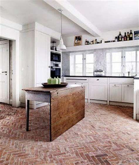 Interior Brick Pavers Flooring by How To Seal Interior Brick Flooring With Wax Home Interiors