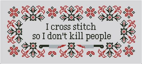 pattern quote cross stitch quotes quotesgram