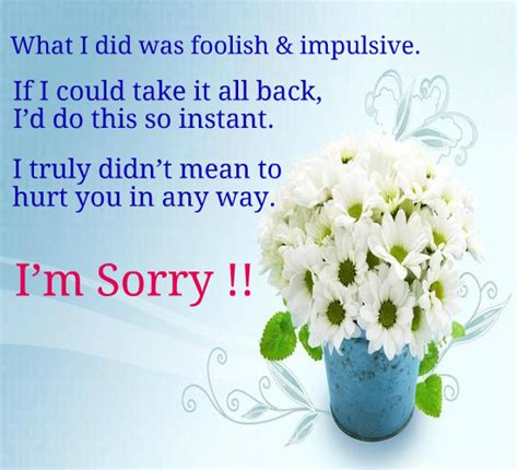 how to make sorry cards if sorry can change things for us free sorry ecards