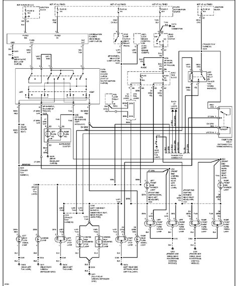 1997 jeep wrangler ke light wiring diagram jeep auto