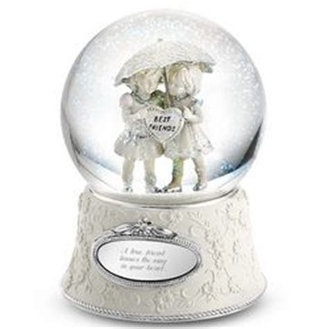 best friends forever snow globe findgift com