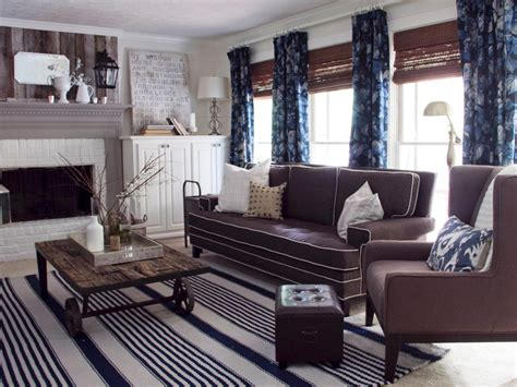 gray living room casual cottage photo page hgtv