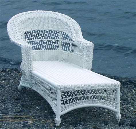 wicker outdoor chaise outdoor wicker chaise cape cod