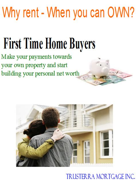 time home buyers trusterra mortgage